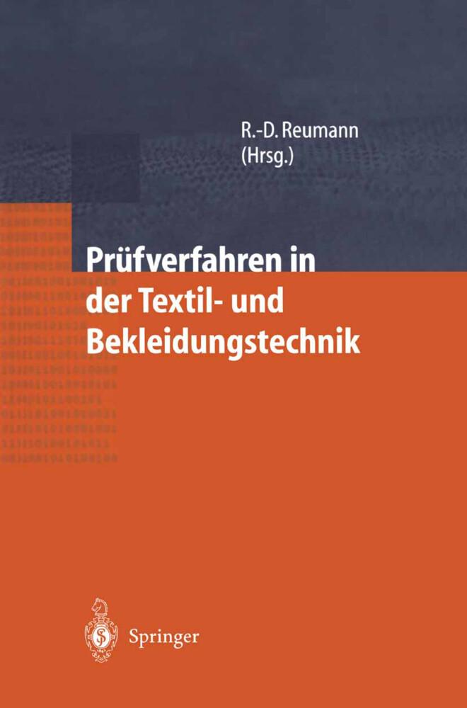 Prüfverfahren in der Textil- und Bekleidungstechnik als Buch