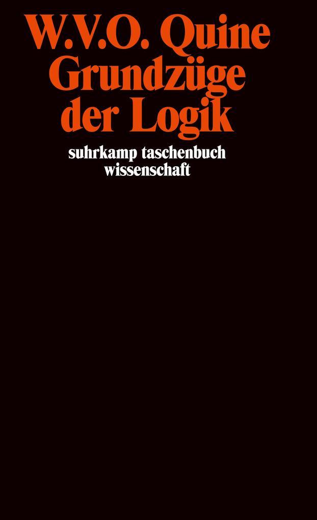 Grundzüge der Logik als Taschenbuch
