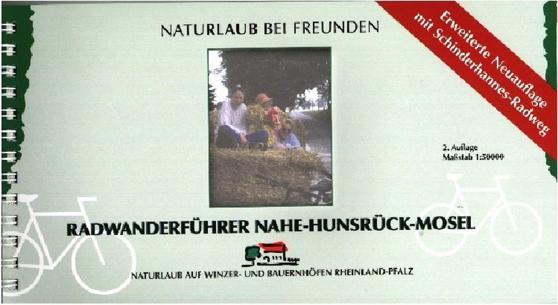Radwanderführer Nahe-Hunsrück-Mosel 1 : 50 000 als Buch