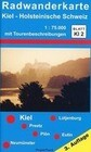 Radwanderkarte Kiel - Holsteinische Schweiz 1 : 75 000