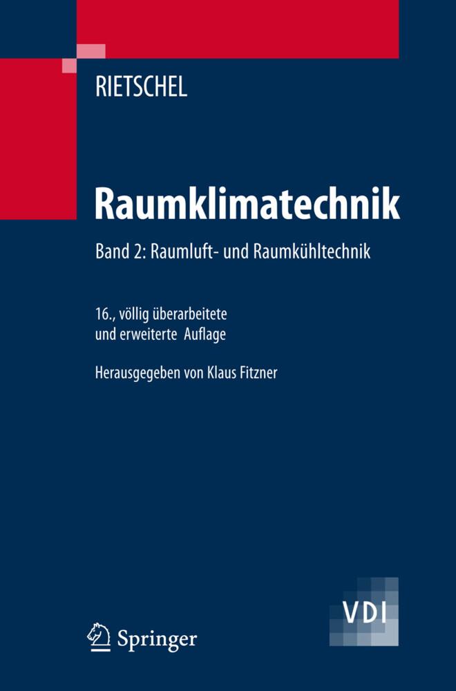Raumluft- und Raumkühltechnik als Buch