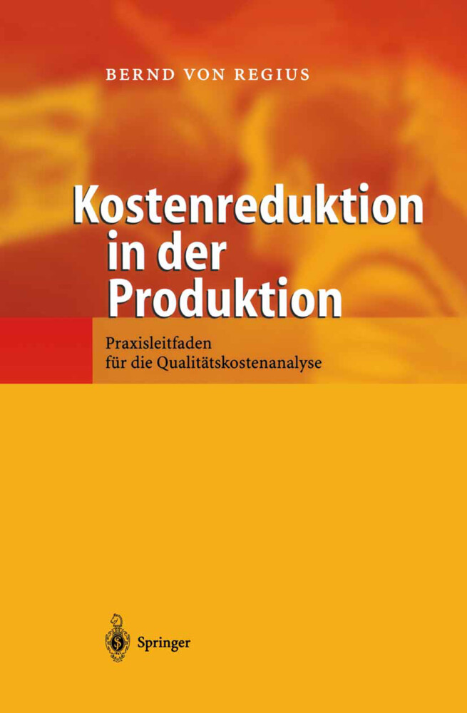Kostenreduktion in der Produktion als Buch
