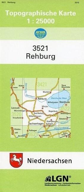 Rehburg 1 : 25 000. (TK 3521/N) als Buch