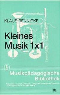 Kleines Musik 1 x 1 als Buch