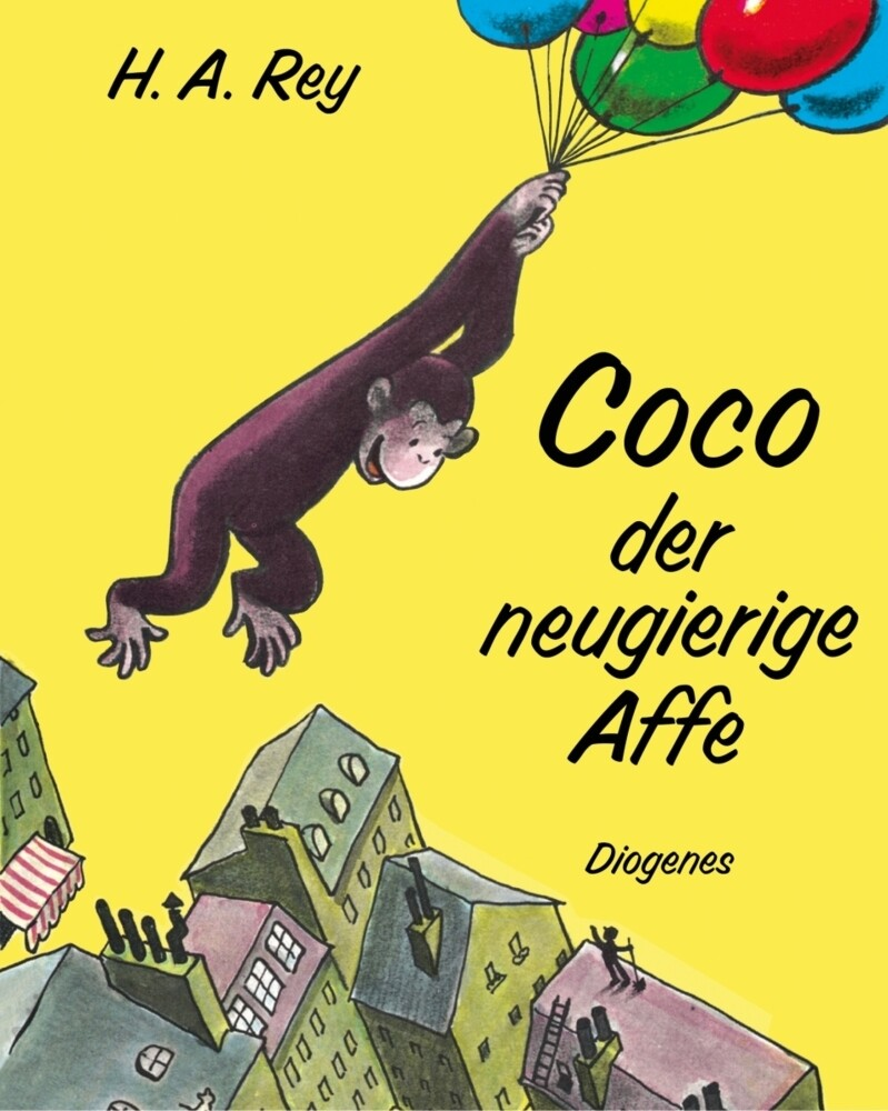 Coco der neugierige Affe als Buch