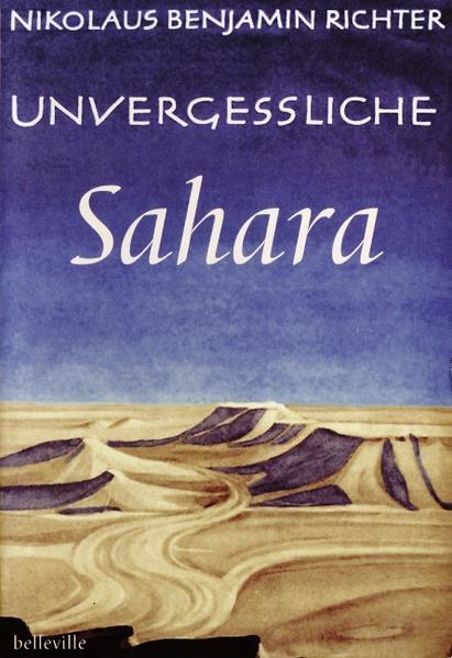Unvergessliche Sahara als Buch