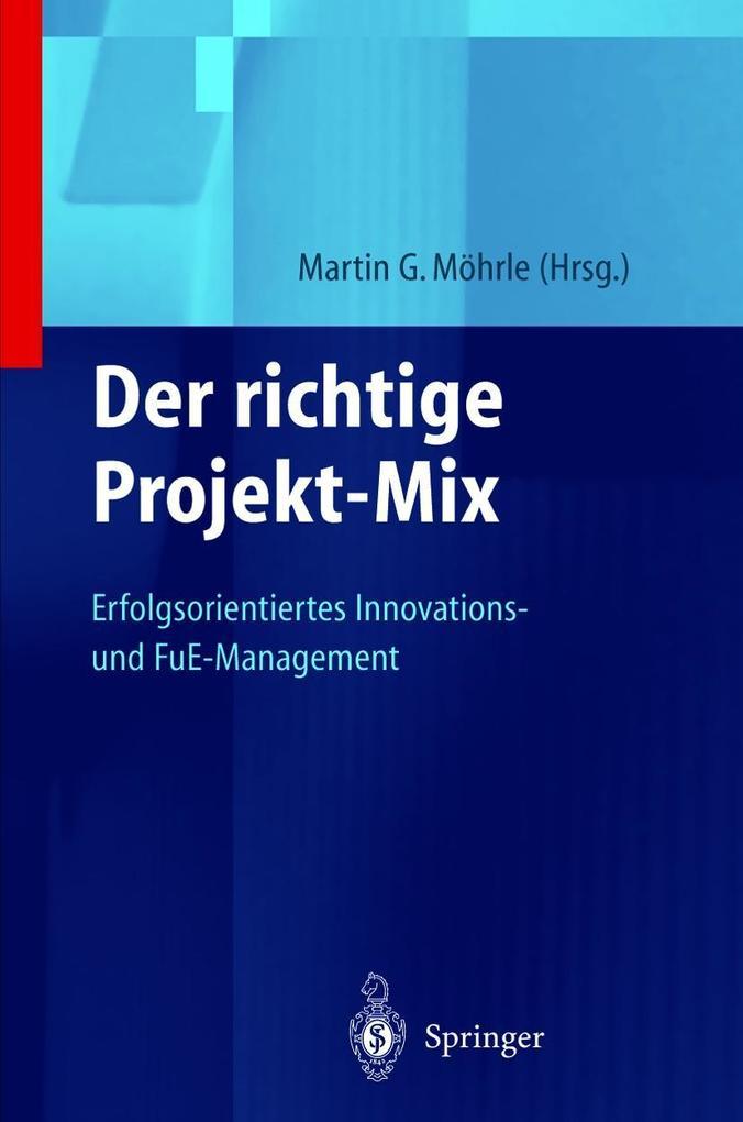 Der richtige Projekt-Mix als Buch