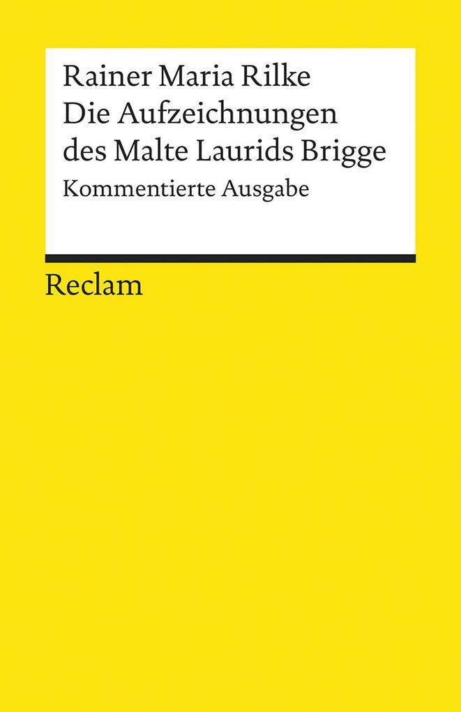 Die Aufzeichnungen des Malte Laurids Brigge als Buch