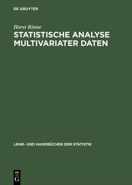 Statistische Analyse multivariater Daten als Buch