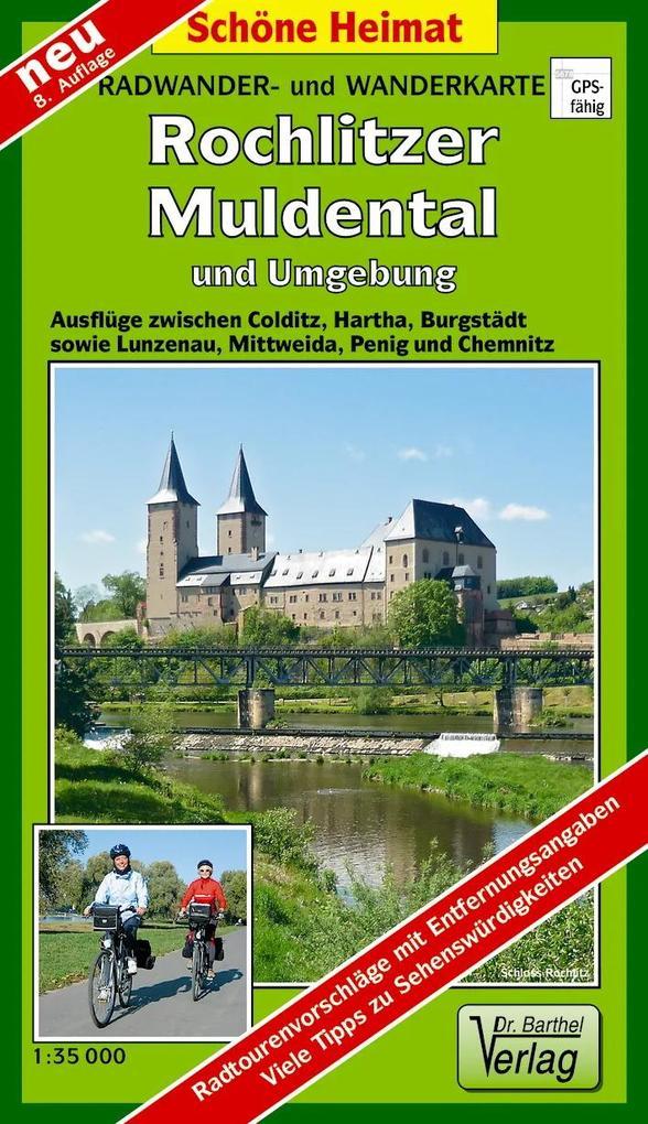 Rochlitzer Muldental und Umgebung 1 : 35 000. Wanderkarte als Buch