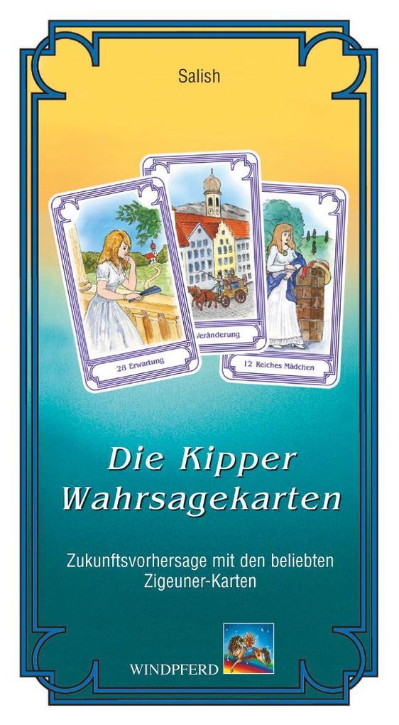 Die Kipper-Wahrsagekarten als Buch