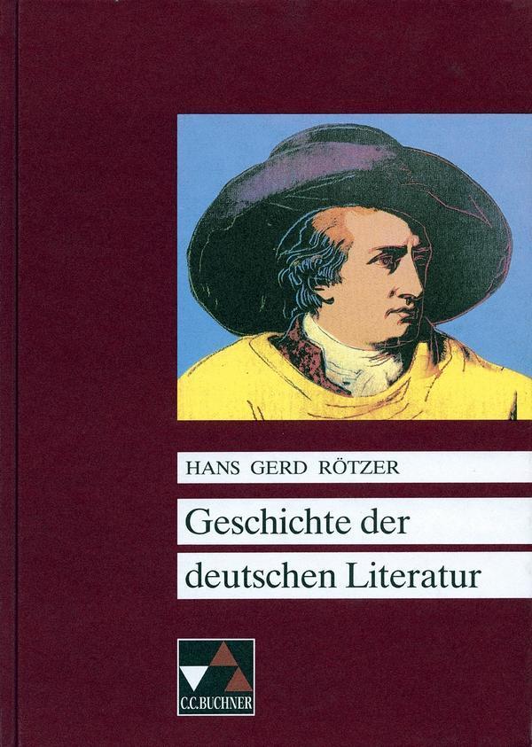 Geschichte der deutschen Literatur als Buch