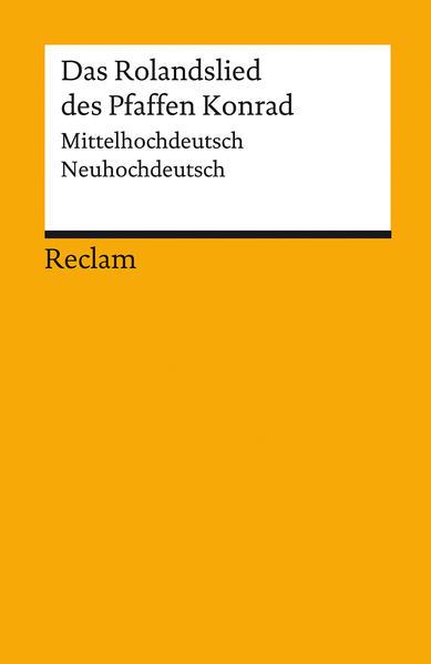 Das Rolandslied des Pfaffen Konrad als Taschenbuch