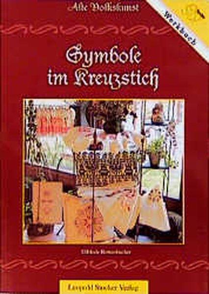 Symbole im Kreuzstich als Buch