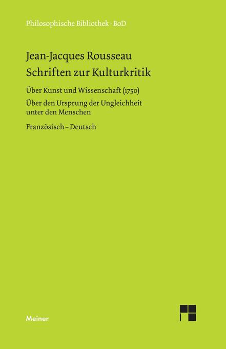Schriften zur Kulturkritik als Buch