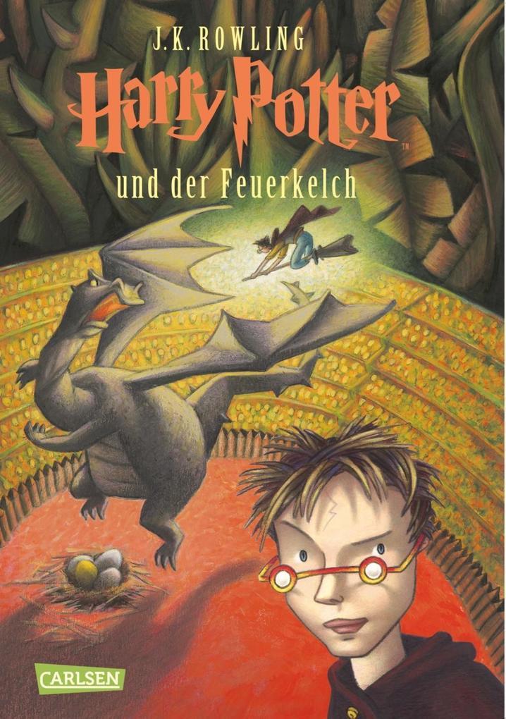 Harry Potter 4 und der Feuerkelch als Buch