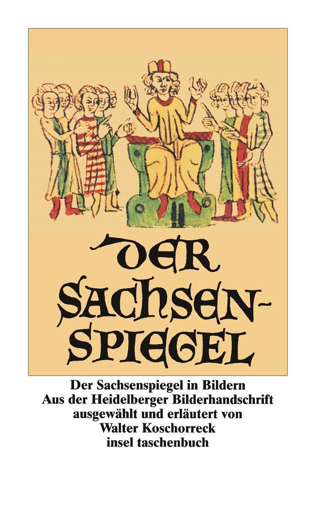 Der Sachsenspiegel in Bildern als Taschenbuch