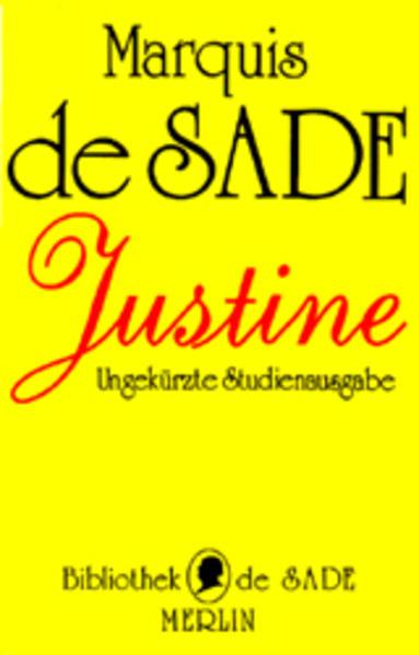 Justine als Buch