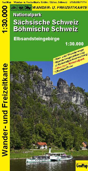 Sächsische-Böhmische Schweiz Nationalpark 1 : 30 000 als Buch