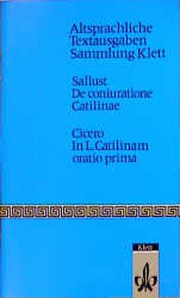 De coniuratione Catilinae als Buch