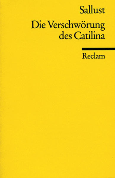 Die Verschwörung des Catilina als Taschenbuch