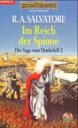 Die Saga vom Dunkelelf 2. Im Reich der Spinne als Taschenbuch