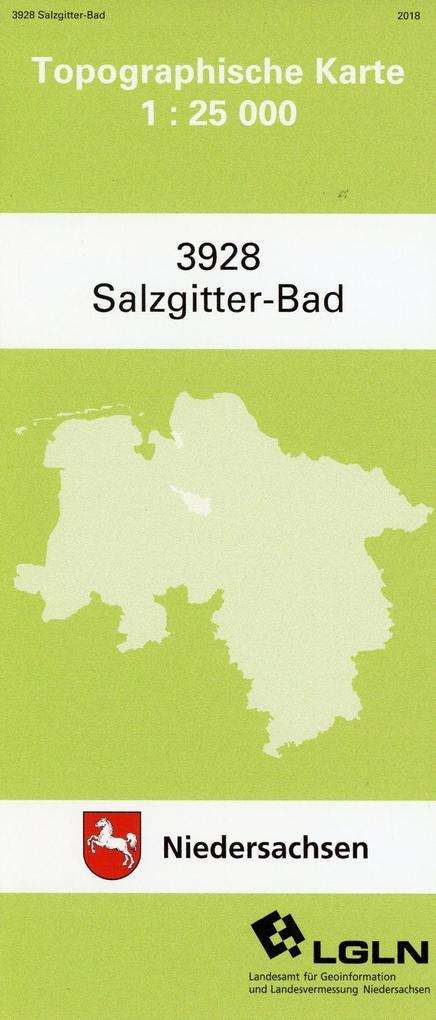 Salzgitter Bad 1 : 25 000. (TK 3928/N) als Buch