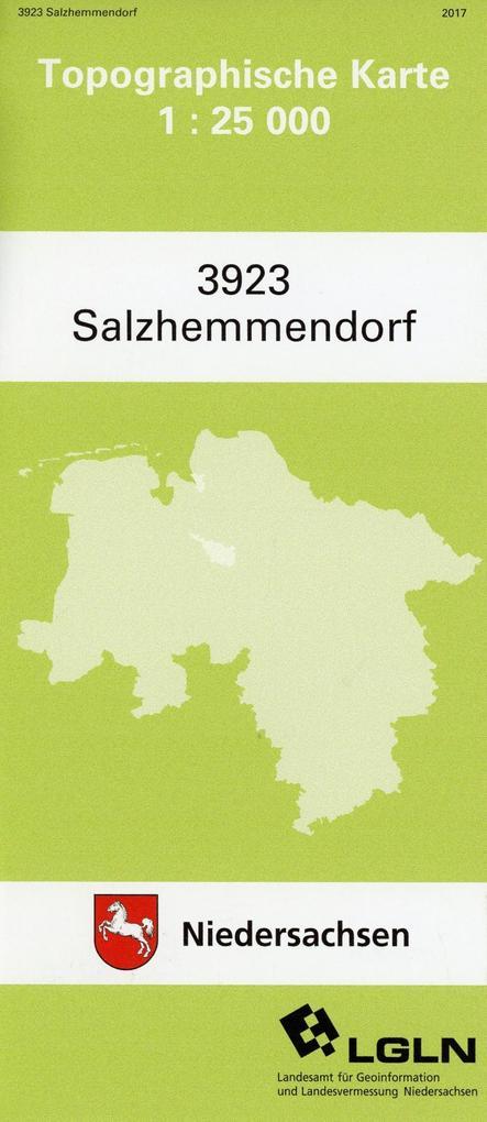 Salzhemmendorf 1 : 25 000 (TK 3923/N) als Buch