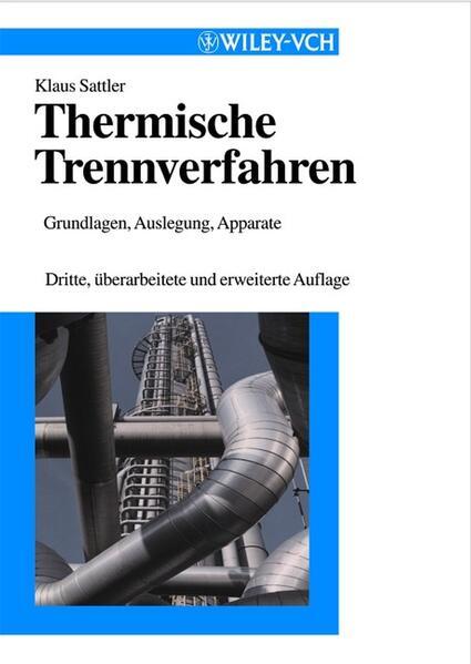 Thermische Trennverfahren als Buch