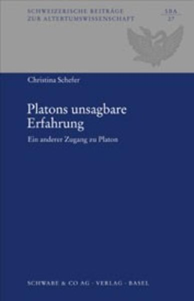 Platons unsagbare Erfahrung als Buch