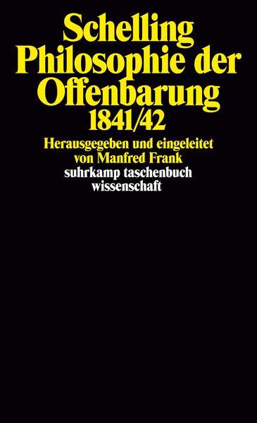 Philosophie der Offenbarung 1841/42 als Taschenbuch