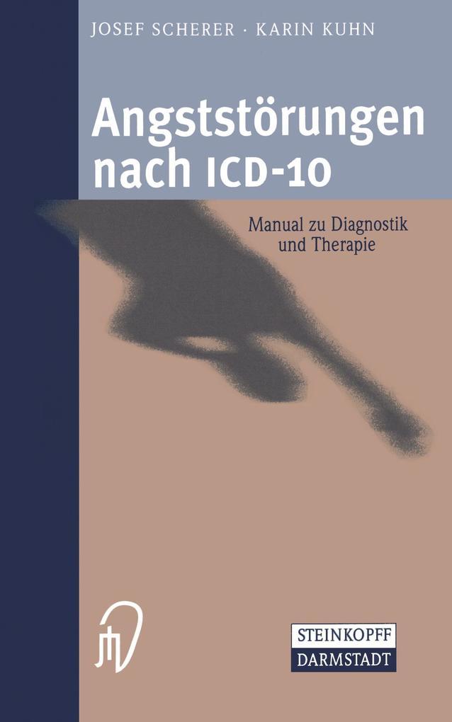 Angststörungen nach ICD-10 als Buch