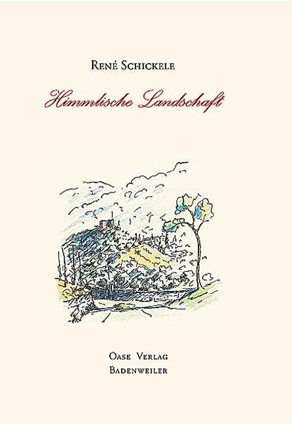 Himmlische Landschaft als Buch