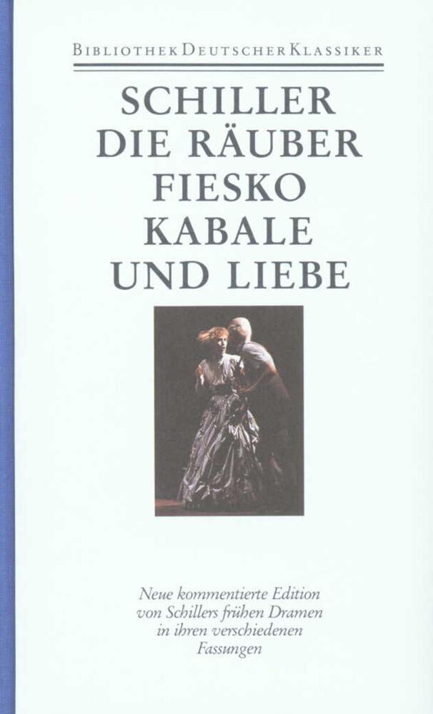 Die Räuber / Fiesko / Kabale und Liebe als Buch (gebunden)