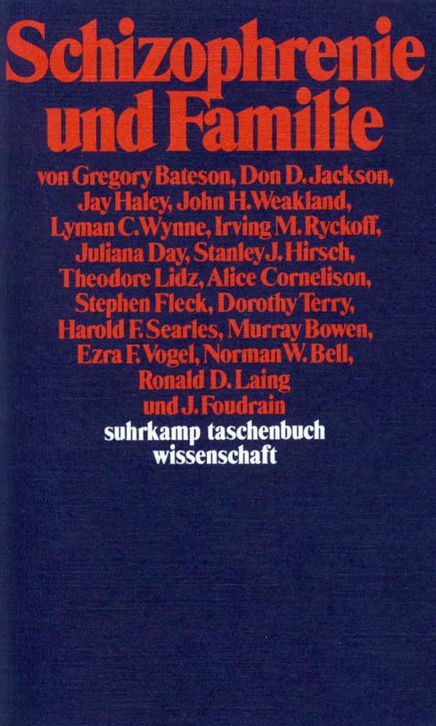 Schizophrenie und Familie als Taschenbuch