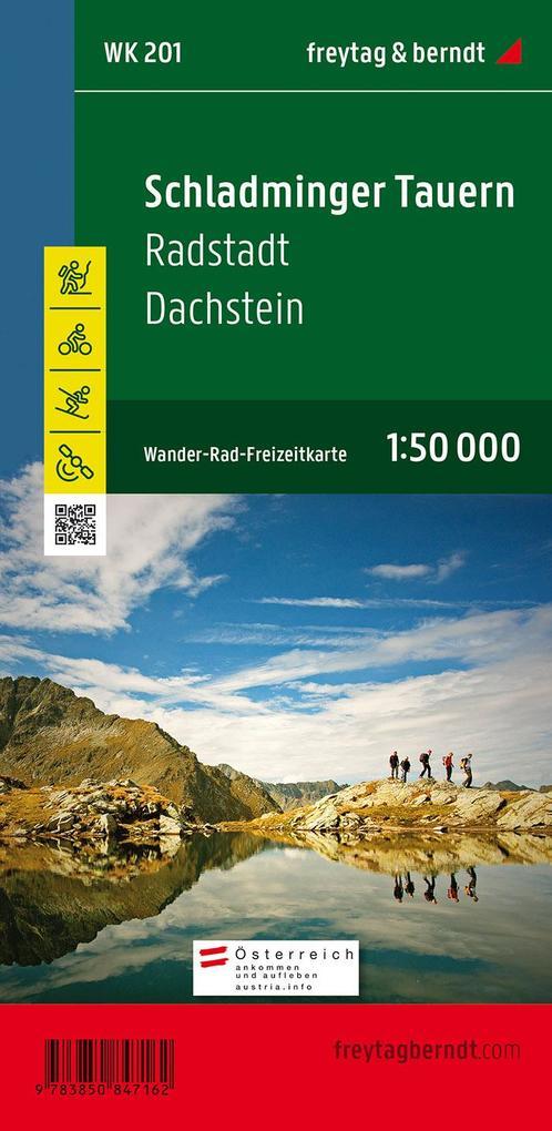 Schladminger Tauern. Radstadt. Dachstein 1 : 50 000. WK 201 als Buch