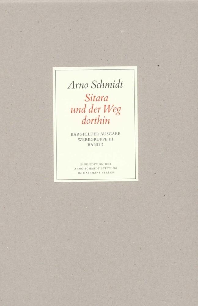 Bargfelder Ausgabe. Standardausgabe. Werkgruppe 3, Band 2 als Buch