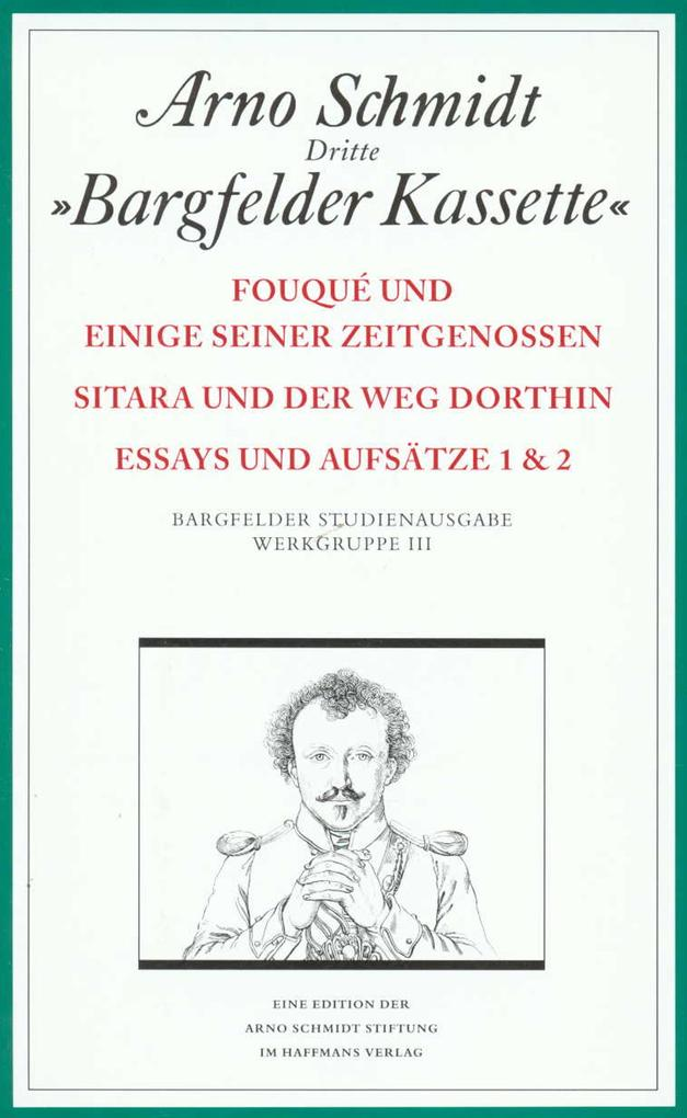 Bargfelder Ausgabe. Studienausgabe. Werkgruppe 3, Band 1-4 als Buch