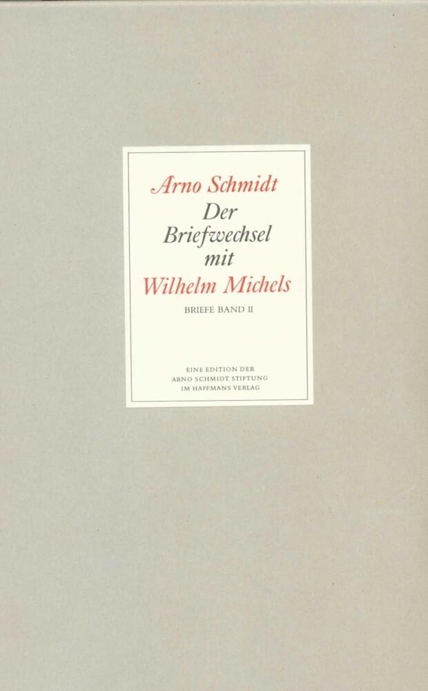 Der Briefwechsel mit Wilhelm Michels als Buch