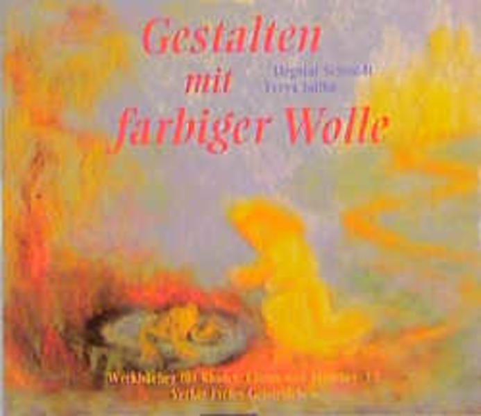 Gestalten mit farbiger Wolle als Buch