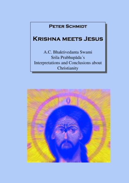 Krishna meets Jesus als Buch