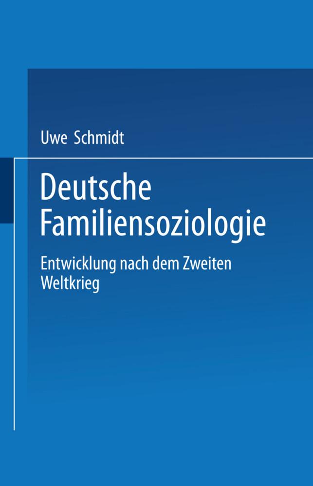 Deutsche Familiensoziologie als Buch