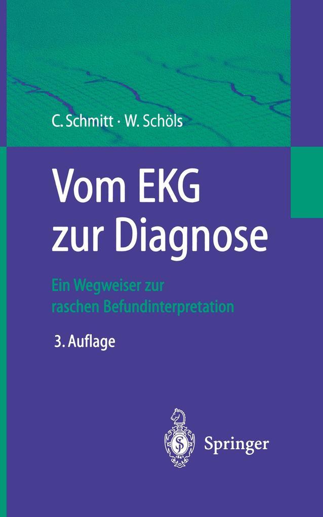 Vom EKG zur Diagnose als Buch