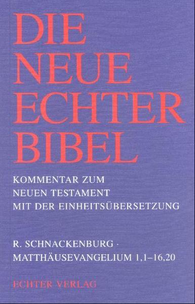 Matthäusevangelium 1,1 - 16,20 als Buch