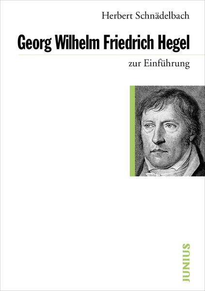 Georg Friedrich Hegel zur Einführung als Buch (kartoniert)