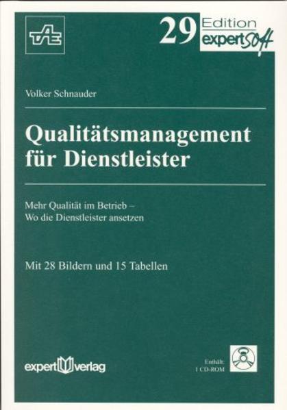 Qualitätsmanagement für Dienstleister als Buch
