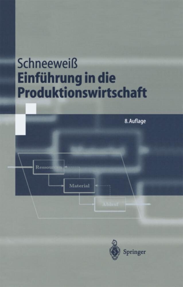 Einführung in die Produktionswirtschaft als Buch