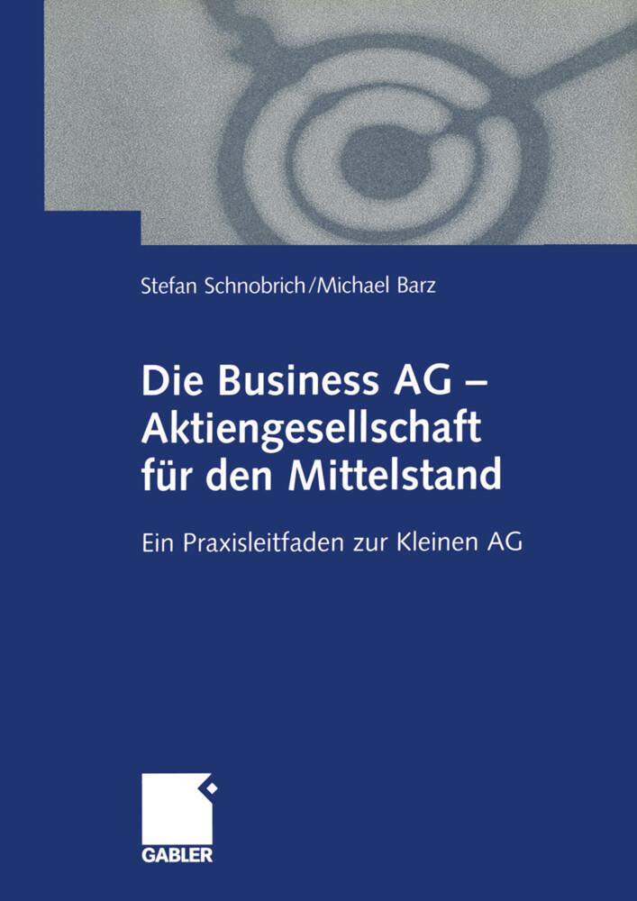 Die Business AG - Aktiengesellschaft für den Mittelstand als Buch