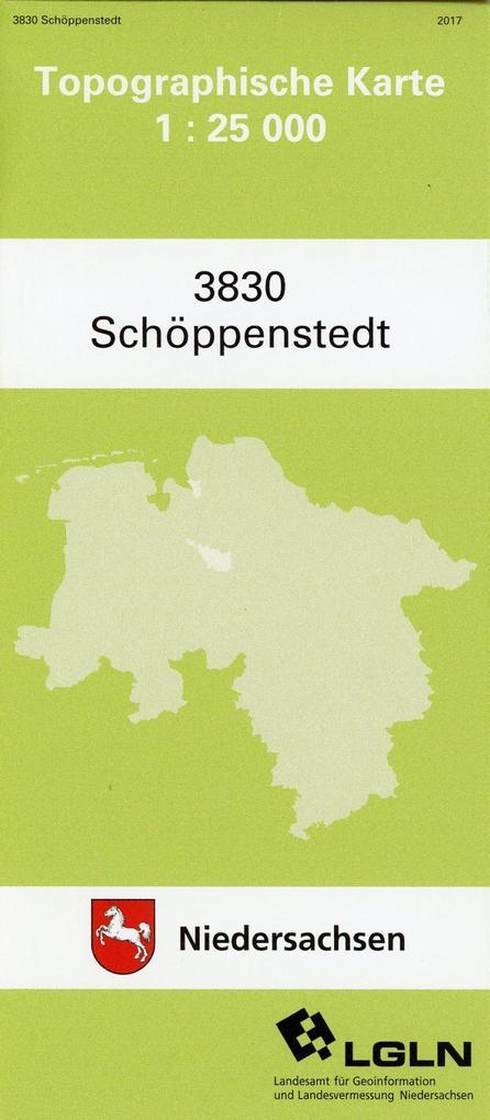 Schöppenstedt 1 : 25 000. (TK 3830/N) als Buch