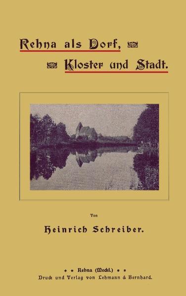 Rehna als Dorf, Kloster und Stadt als Buch